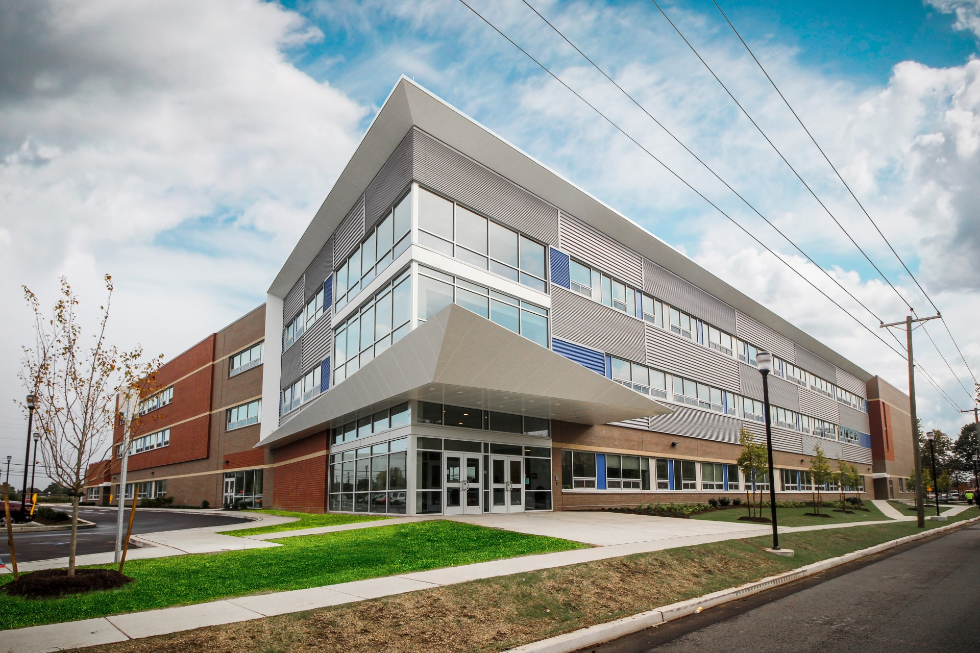Cramer Hill is a district-charter hybrid school, serving roughly 750  students from pre-kindergarten through 8th grade. The new, three-school  building ...